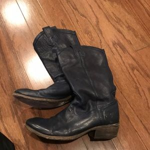 Frye soft leather boots